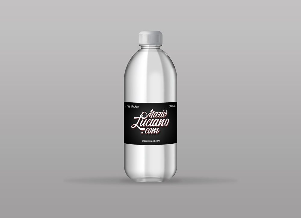 bottle mockupworld