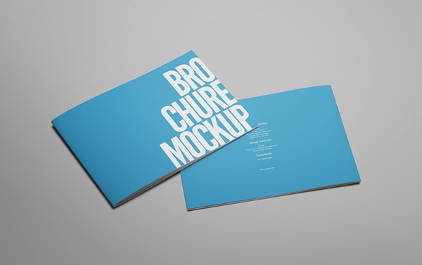 brochure catalog booklet mockup on behance