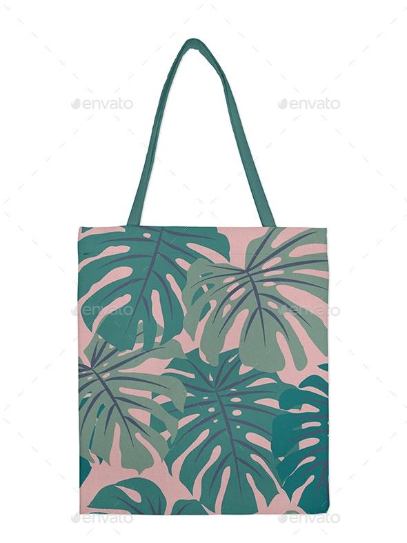 canvas tote bag mockup tecido graphicriver
