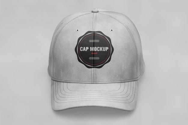 cap mockup psd file free download