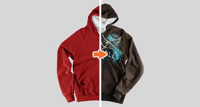 classic tri blend pullover hoodie mockup pack go media