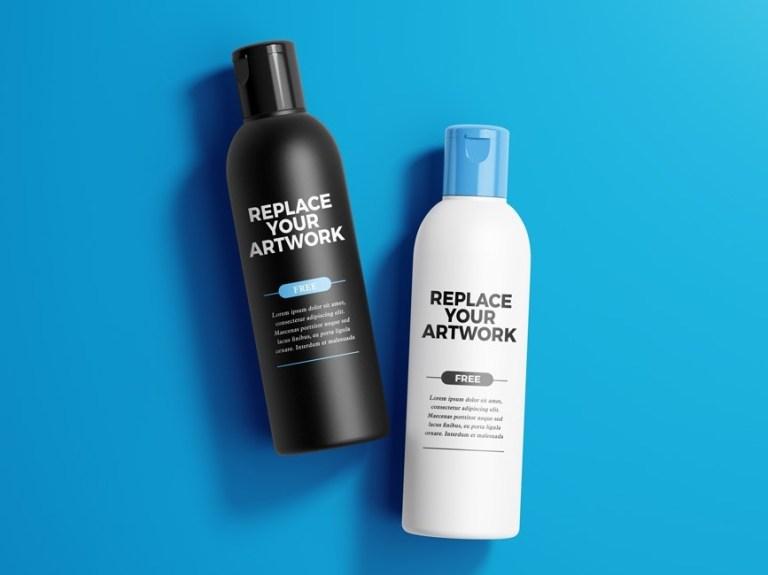 cosmetic packaging bottle mockups mockup love