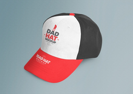 customizable free dad hat mockup psd zippypixels