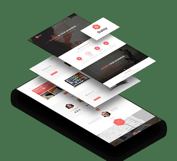 design awesome psd website mockup mumair005