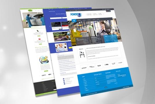 design website mockup landing page homepage ui page fully