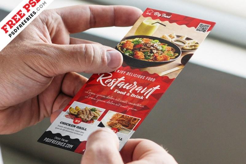 download this free restaurant menu card mockup in psd designhooks