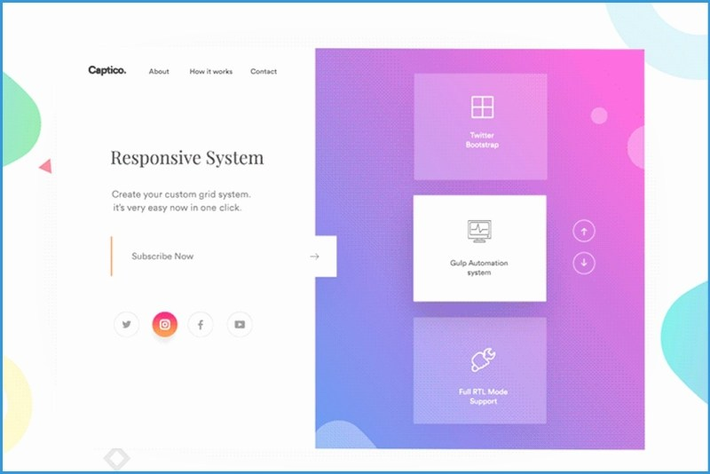 dynamic responsive website templates free download fresh 71 website