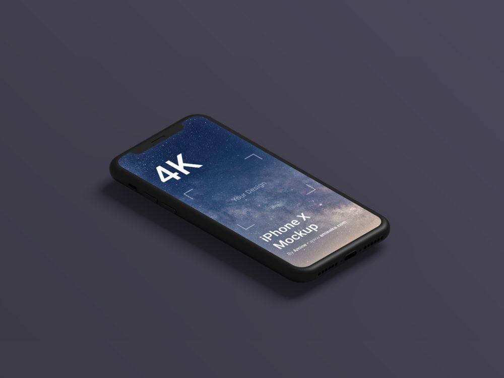 floating phone mockupworld