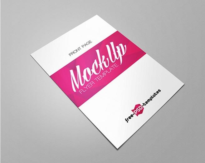 flyer mockup bundle mockupworld