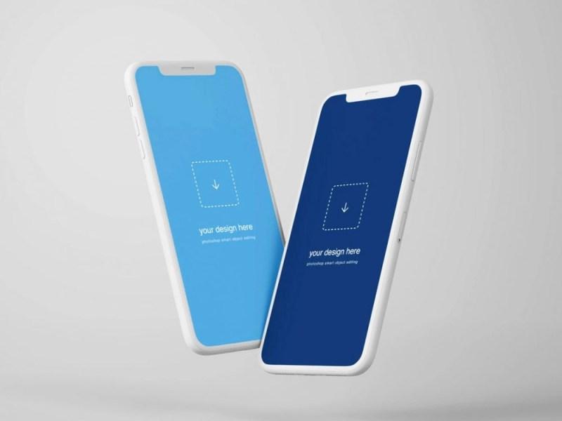 free iphone x mockup psd download daily mockup