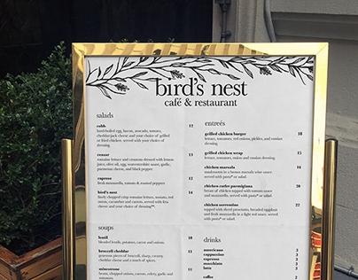 free menu mockup psd on behance