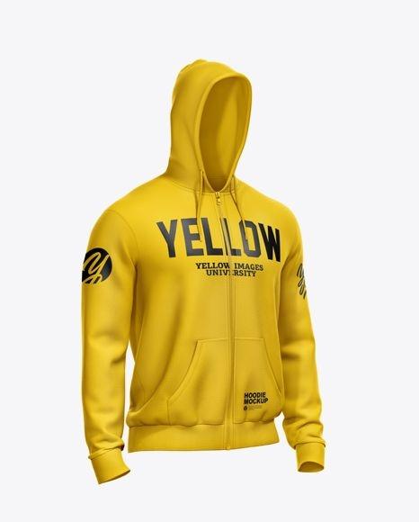 free psd mockups free psd mockup mens full zip hoodie mockup half