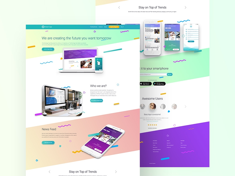 free website mockup free psd template psd repo