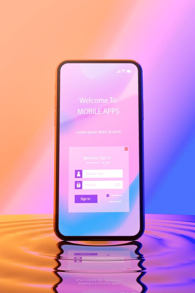 freebie psd mockups of iphone samsung phones in liquid just