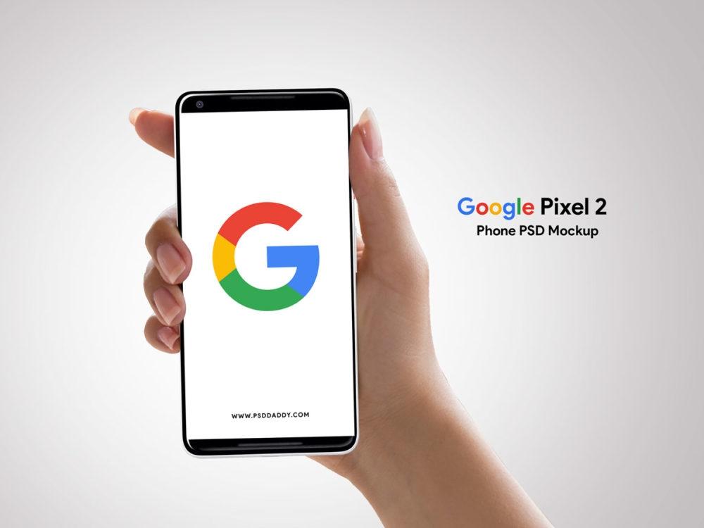 google pixel 2 mockup free mockup