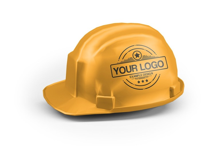 hard hat helmet mockup generator psd template on behance