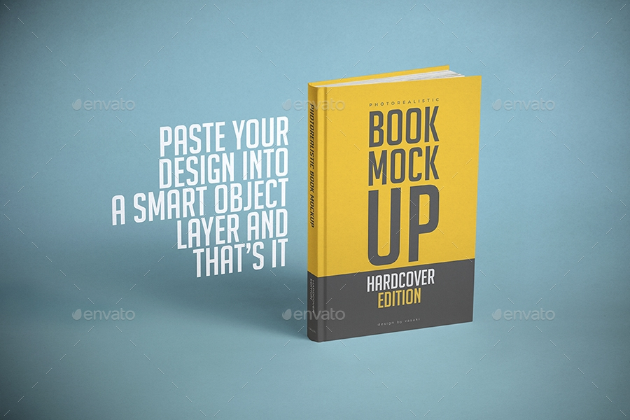 hardcover book mock up vasaki graphicriver
