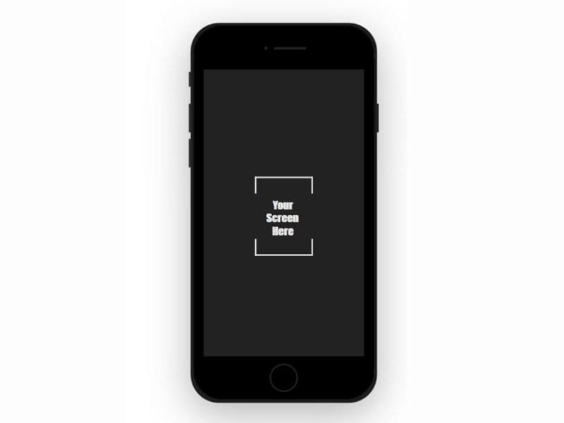 iphone flat mockup fluxes freebies
