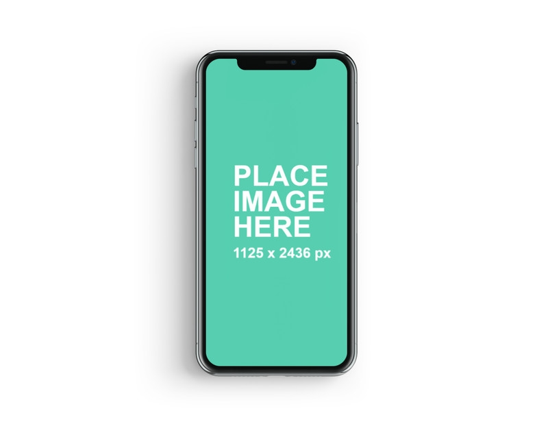 iphone x mockup from lstore