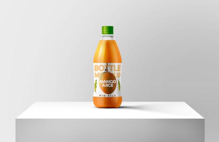 juice bottle mockup free psd template ltheme
