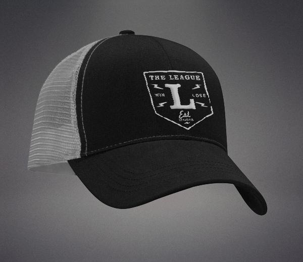 league hat