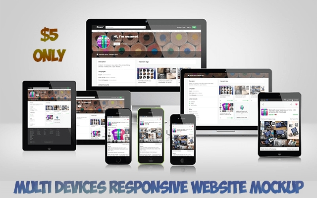 make 500 multi devices responsive website mockup nasmed