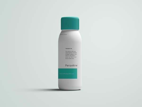 medicine bottle mockup