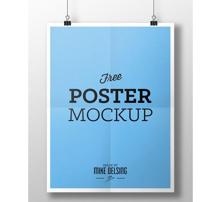 mike delsing portfoliofree poster mockup mike delsing portfolio