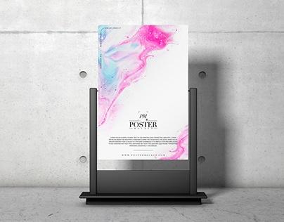 poster mockup on behance
