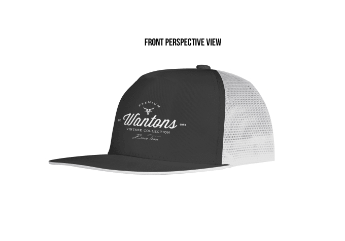put your design on a realistic trucker hat mockup