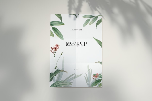 ready to use premium quality poster mockup psd file free download