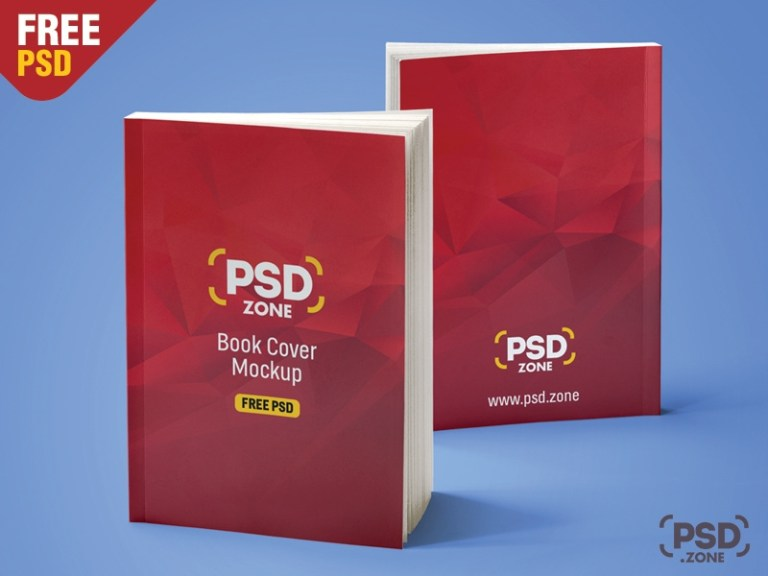 realistic book mockup free psd psd zone on dribbble