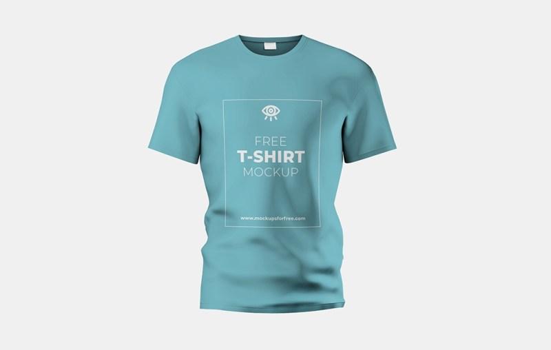 realistic t shirt mockup mockups for free