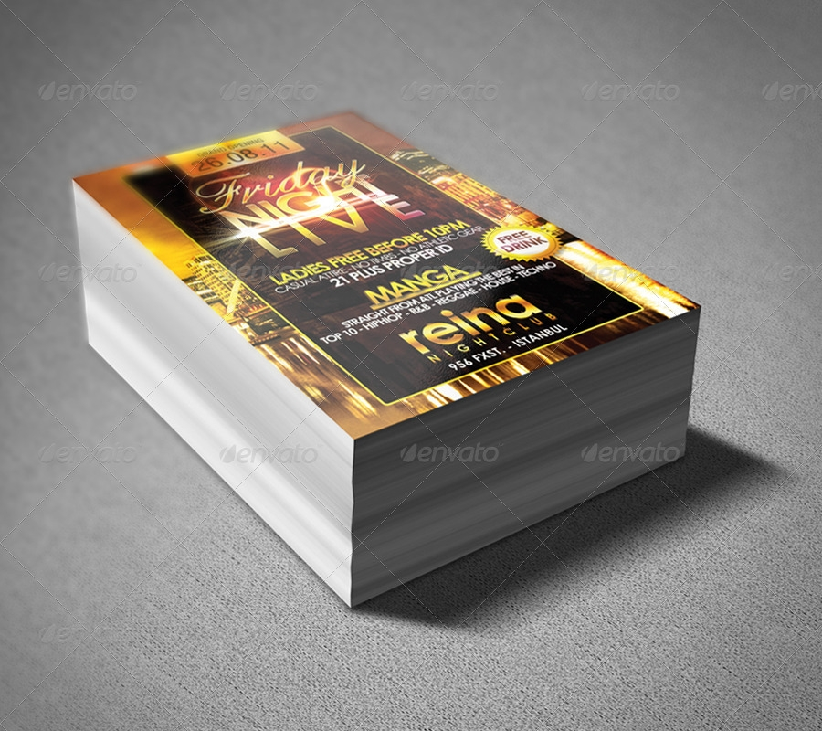 stacked flyers mockups kamarashev graphicriver