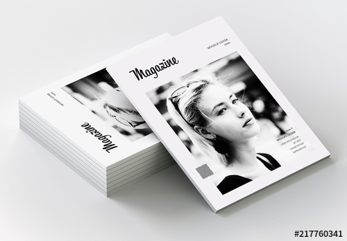 stacked magazines mockup buy this stock template and explore