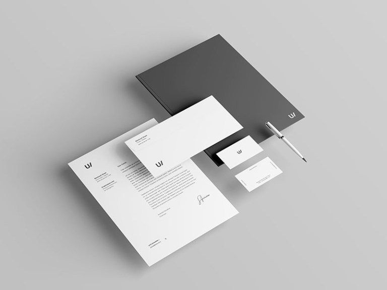 stationery mockup wassim on dribbble