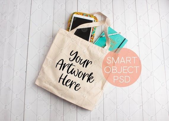 tote bag mock up product photo canvas bag mockup photo tote etsy