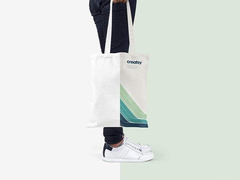 tote bag mockup set pixelbuddha on dribbble