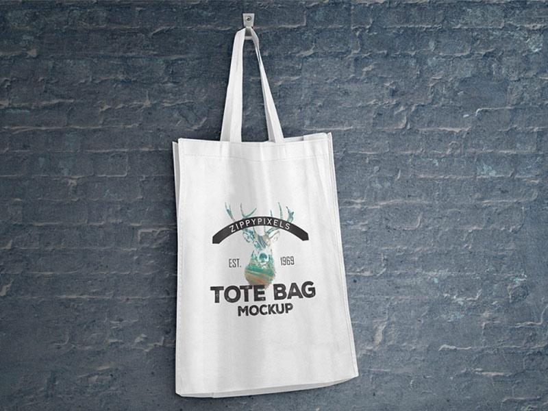 two tote bag mockups mockupworld
