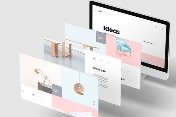 website design logo design full website design website