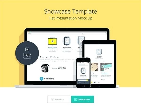 website mockup psd template