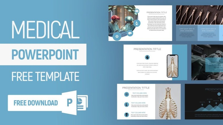 008 unusual free medical powerpoint template high resolution
