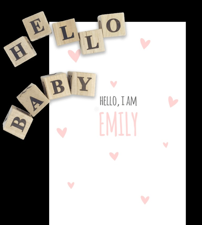 birth announcement templates for word