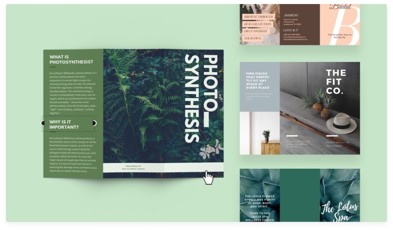 brochure maker design a custom