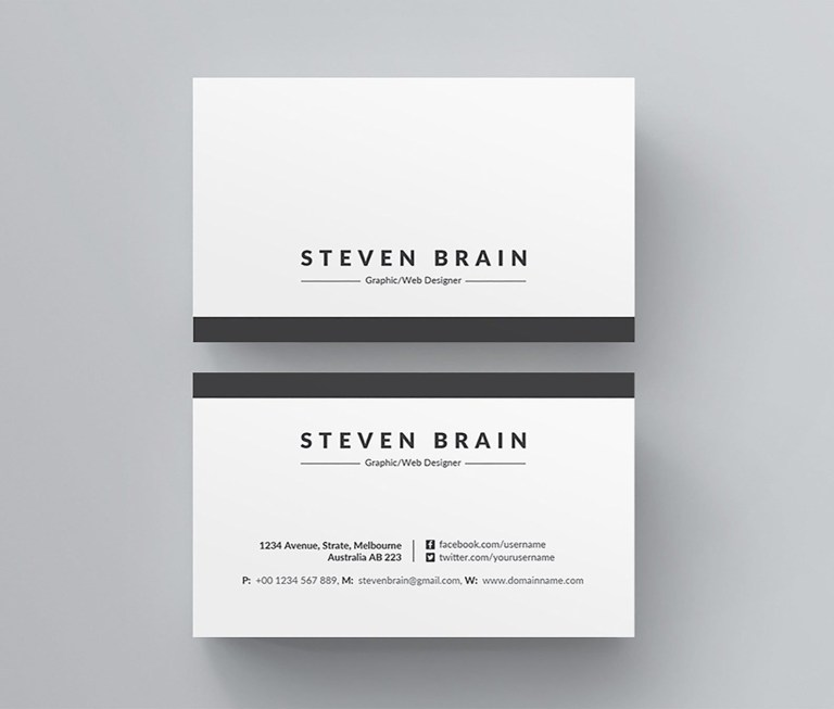 business card template business card design ms word business