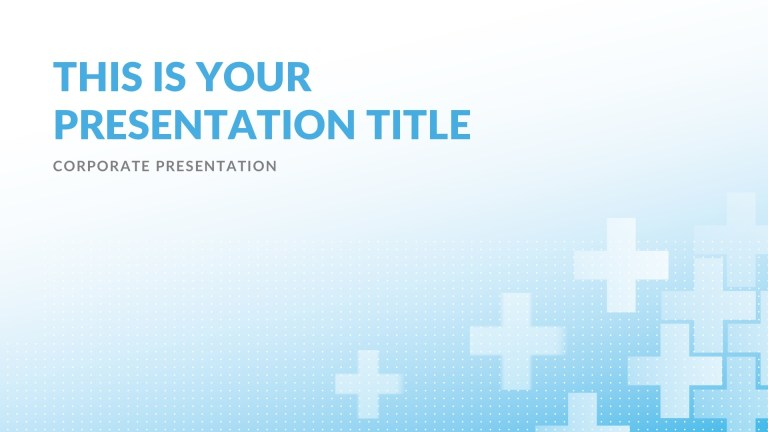 clinic medical free powerpoint template keynote theme