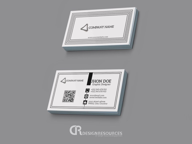 create a simple business card resources