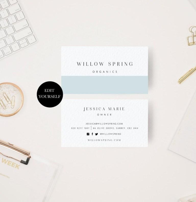 diy business card modern business card design simple