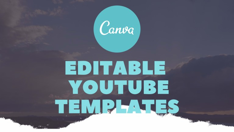 do youtube intros and outros in canva editable wal33d