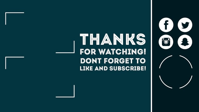 free youtube end screen outro template photoshop non photoshop versions free download 4